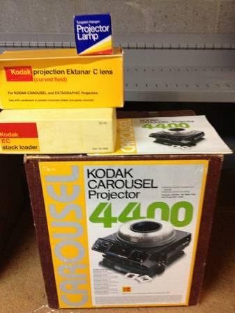 Kodak Slide Projector waccessories - $40