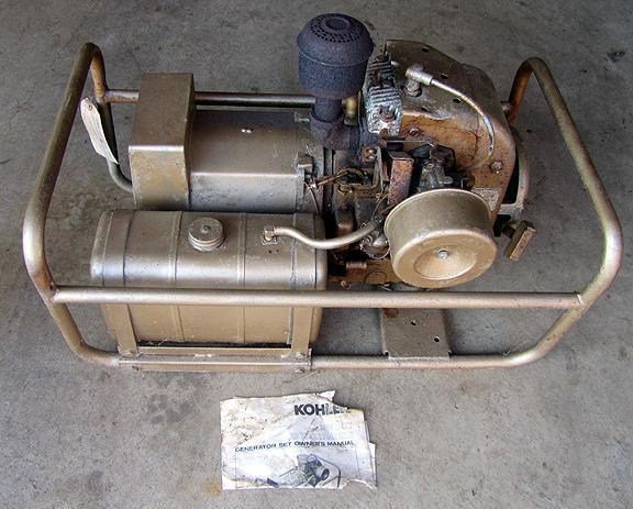 KOHLER Generator 3500 watt