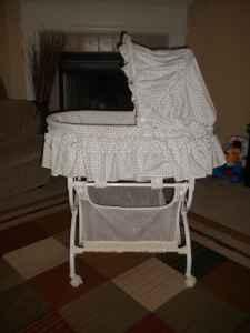 Kolcraft Bassinet Blue Angel Pkwy Muldoon For Sale In
