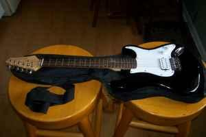 KONA Electric Guitar-Strat Style - $80 (Louisville)