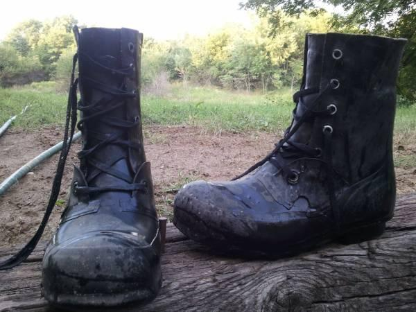 Korean War Army Boots size 10.5-11(Great for