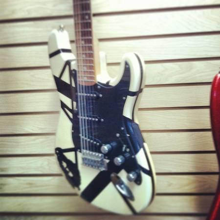 Kramer Van Halen stripped strat electric guitar - $119
