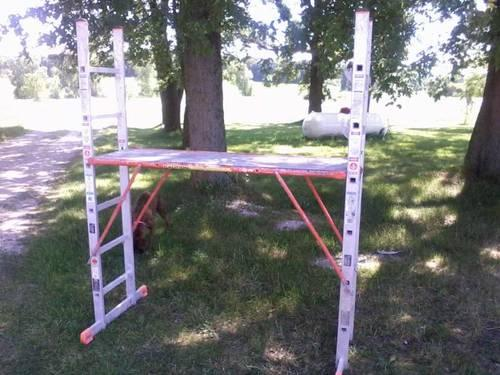 Krause 121383 VarioTop Scaffold / Ladder System