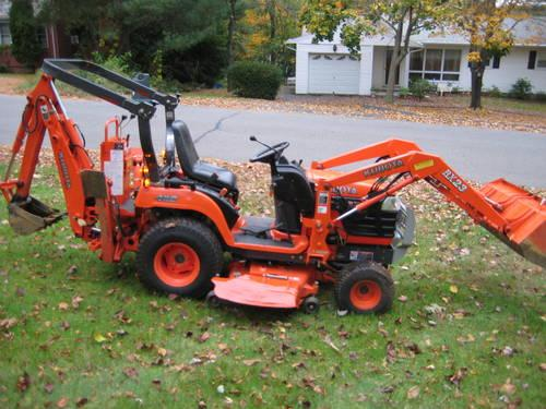 Kubota Bx23tractor 4x4 Hydrostatic Loader Backhoe 60