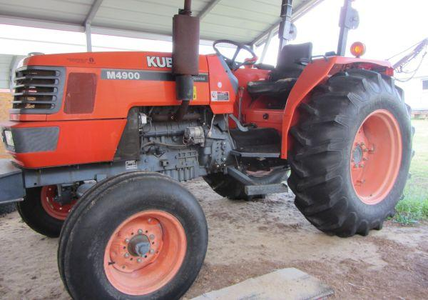 Kubota M 4900 Tractor Hazlehurst For Sale In Savannah