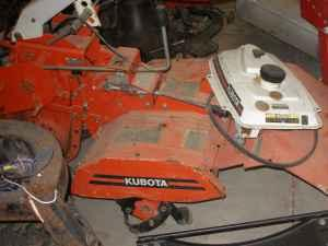 kubota rear tine tiller(needs motor) - $50 (delta ohio)