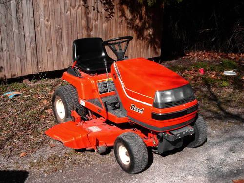 Kubota T1600h Riding Garden Tractor Mower Gt 2 Cyl 13 5 Hp