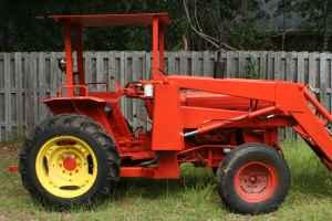 kubota tractor w/ front loader - $5500