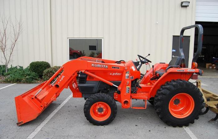 L3400 Kubota Tractor W Loader : Kubota l w loader easley sc for sale in