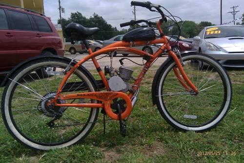 Kulana motorized bicycle