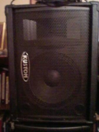 Kustom Monitor Speaker - $75