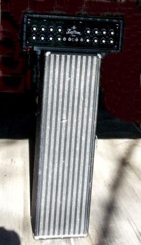 Kustom PA/Guitar Amp Head & Kustom Speaker Column