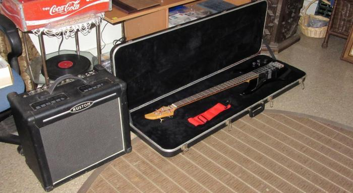 kustom tube amp yamaha guitar with case for sale in geneva ohio classified. Black Bedroom Furniture Sets. Home Design Ideas