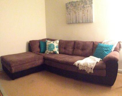 L-Shaped Sectional Sofa - Excellent Condition