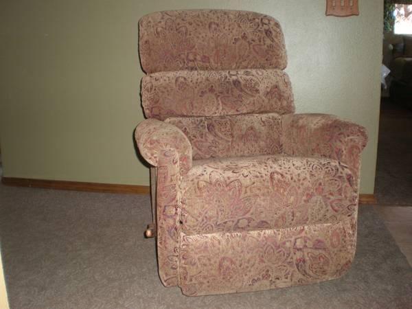 La Z Y Boy Rocker Recliner Swivel Chair For Sale In