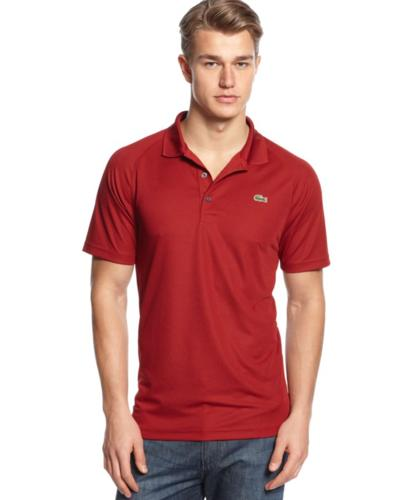Lacoste Short Sleeve Super Dry Raglan Polo Shirt