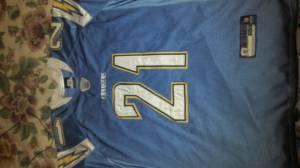 innovative design c22c4 a5281 LaDainian Tomlinson Charger Jersey & Jay Cutler Broncos ...