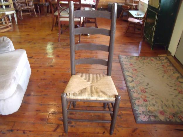 Ladder Back Chairs W/Cane Seats