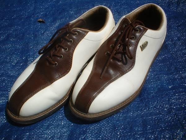 Ladies Leather Golf Shoes Size 7 Womens Girls - $10