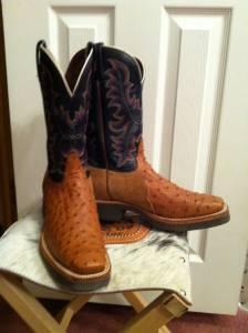 d96293f17b1 Ladies Tony Lama Ostrich Boots - $100 (Plantersville)