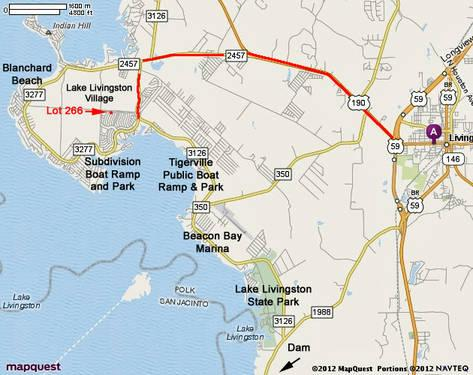 Lake Livingston Village Section 13 Lot 266 For Sale In