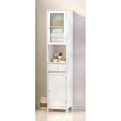 Lakeside Tall Storage Cabinet -- New