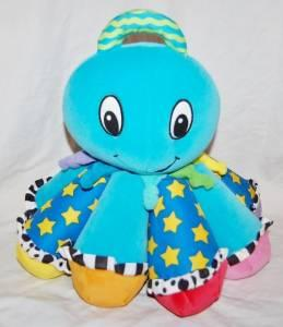 Lamaze Octotunes Cuddly Plush Octopus Play Your Own Music