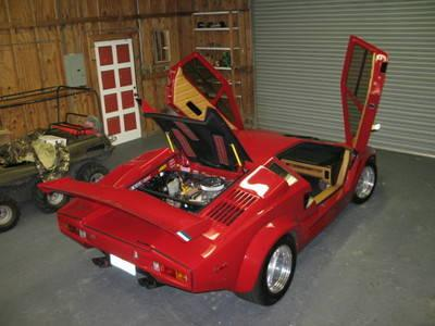 Lamborghini Countach 25 Anniversary Replica Red One Of A
