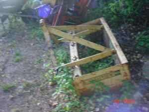 land Pride 4 ft Box blade cheap ! - $200 (Highland city)