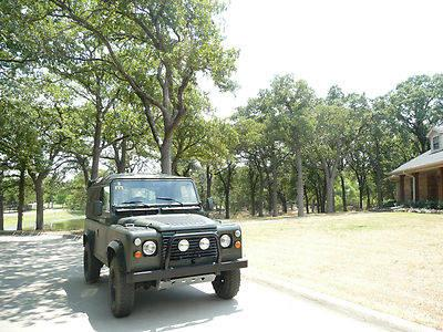 land rover defender 90 soft top for sale in argyle texas. Black Bedroom Furniture Sets. Home Design Ideas
