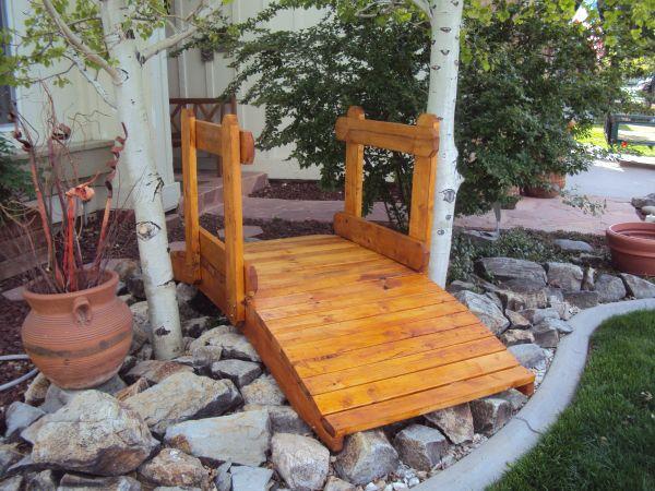 Landscape bridges dtc for sale in denver colorado for Garden pond bridges sale
