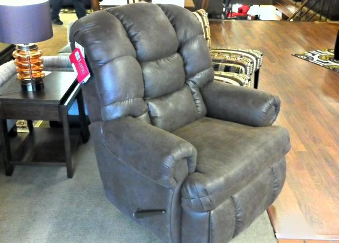 LANE Big Man u0026#39;1st CLASSu0026#39; Recliner (CLOSE-FABRIC / 40%off!!!)) - (Brenneru0026#39;s Furniture (Clearance ...