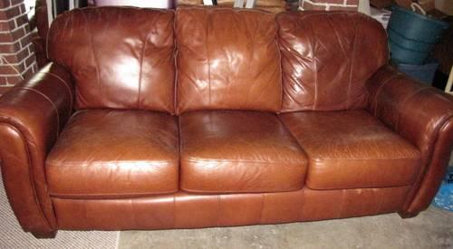 Enjoyable Lane Brown Leather Living Room Set Couch Chair Vintage For Gmtry Best Dining Table And Chair Ideas Images Gmtryco