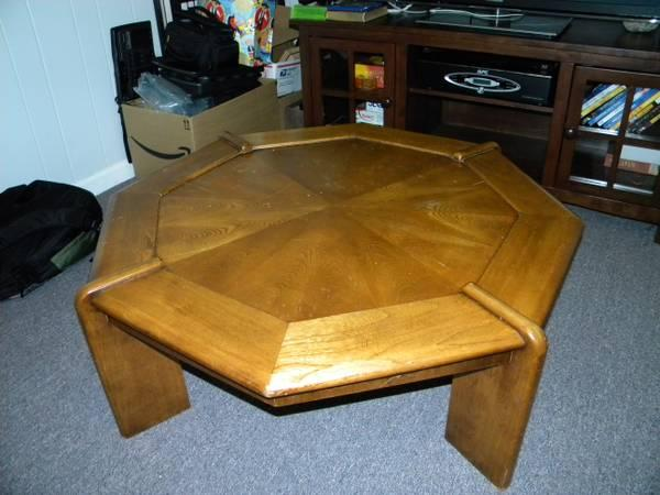 Lane Coffee Table And 2 End Tables Solid Oak Furniture