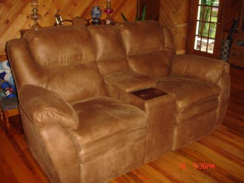 Lane Microsuede recliners sofas