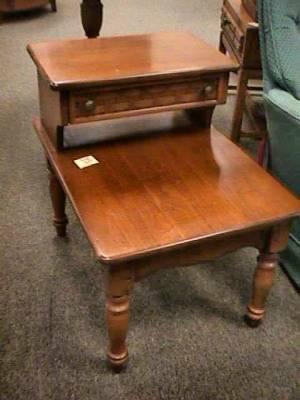 Lane Wood Step End Table For Sale In Chautauqua Ohio