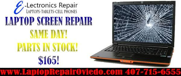 LAPTOP SCREEN REPAIRS SAME DAY! 15.6
