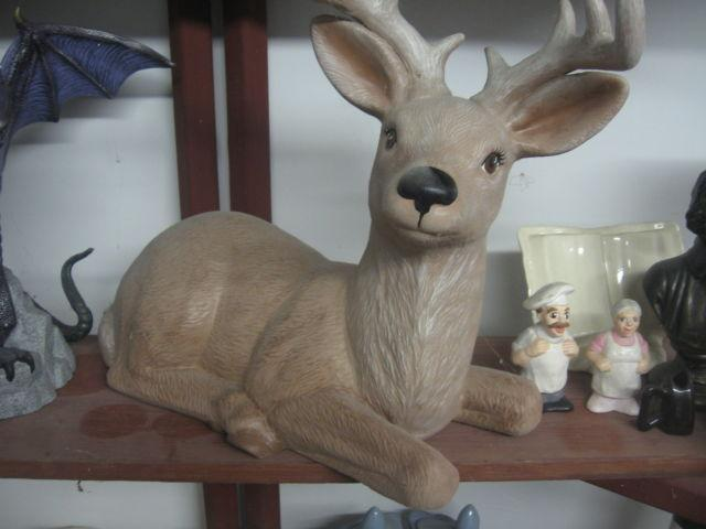 Large Ceramic Deer