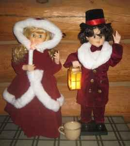 LARGE CHRISTMAS DISPLAY FIGURES - $20 (Hesperia)