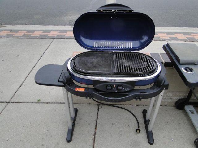 Large Coleman Road Trip Propane LP Camp BBQ Grill Stove