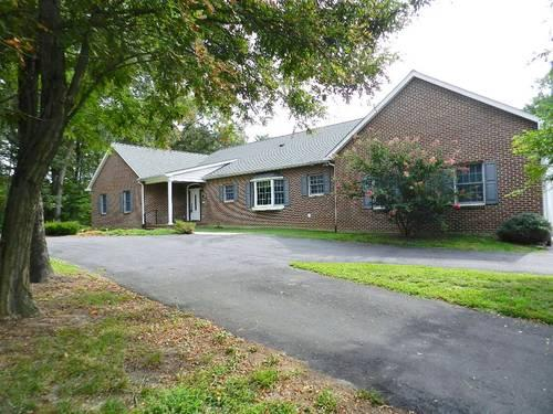 Large custom brick front rambler close to dahlgren for for Rambler homes for sale