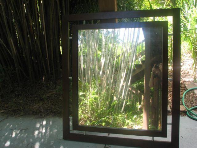 Large framed mirror great condition for sale in jensen for Large framed mirrors for sale