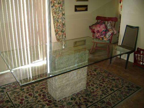 large glass dining room table top glass top only for