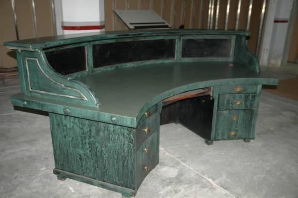 Large Green Antique Desk Office For Sale In Milwaukee Wisconsin Classified