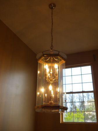 large light chandelier for foyer glass brass vanity lighting ...