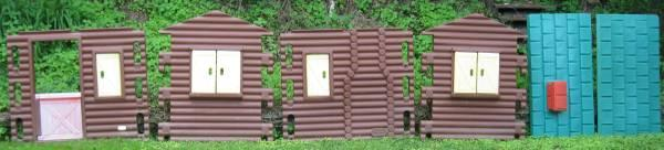 Large Little Tikes Log Cabin Outdoor Playhouse - $140