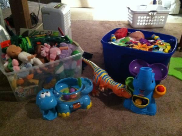 Large Lot of Various Kids Toys - $30