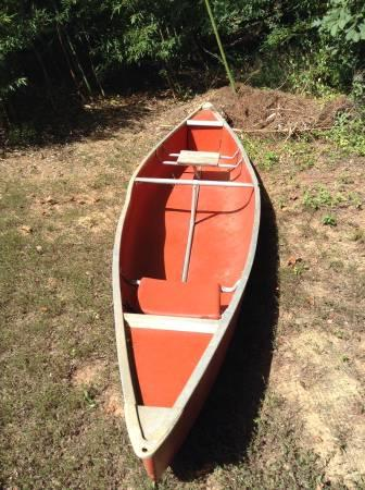 Large metal canoe - $350