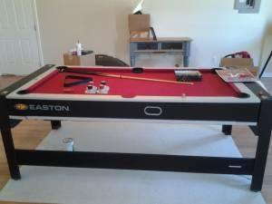 Large Pool Tableair Hockey Table Bay Minette For Sale In Mobile - Mobile pool table