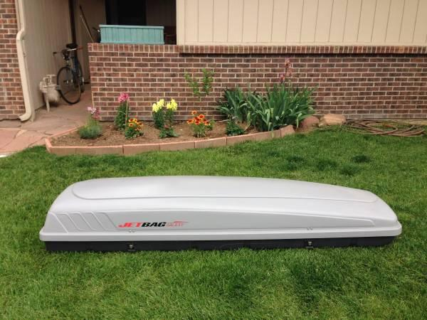 Large Roof box  cargo box  rocket box in excellent condition - $185